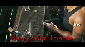 இனிய தீபாவளி வாழ்த்துக்கள் - UMLUCKY PRIYAN me Happy diwali Friends UMLUCKY PAIVAN me Happy diwali friends - ShareChat
