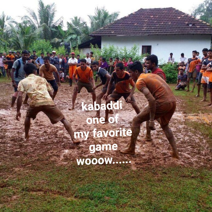 MyTalent - I kabaddi one of my favorite game WOOOW . . . - ShareChat