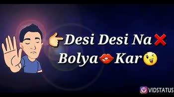 bad boy - ( Is Desi Ki Fan * Ye Duniya VIDSTATUS The Rhi Re VIDSTATUS - ShareChat