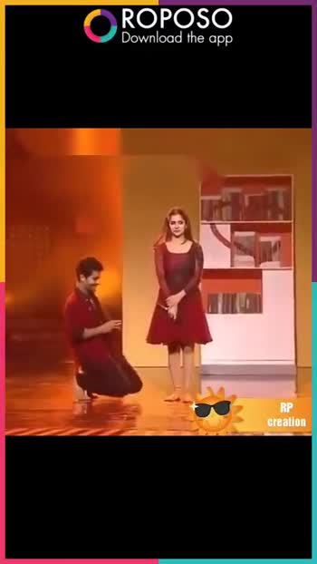 Romantic Love 🎶Song - ROPOSO Download the app RP creation ROPOSO India ' s no . 1 video app Download now : - ShareChat