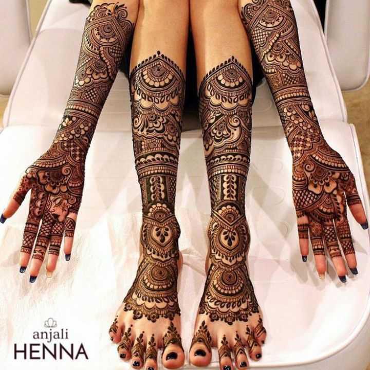 🤲 મહેંદી ડીઝાઇન - CODE anjali HENNA - ShareChat
