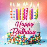 Happy birthday GIFs - оррор * Birthday ren . davno . ru - ShareChat