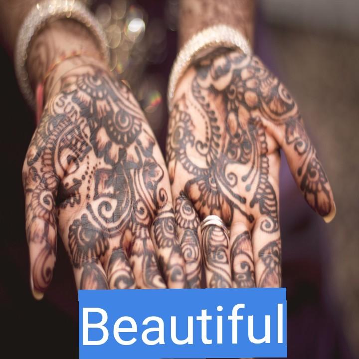 mehandi design. - Beautiful - ShareChat