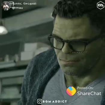 🎥Avengers End Game - - நபோஸ்ட் செய்தவர் : ம @ rmau BGM ADDICT ShareChat Ramakrishna mau I love share Chart Follow - ShareChat