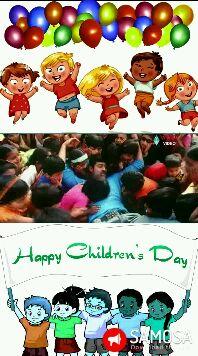 జాతీయ విద్యా దినోత్సవం📚 - oloa VIDEO Happy Children ' s Day SIMOSA Download tt Happy Children ' s Day SIMO Dovoad the - ShareChat