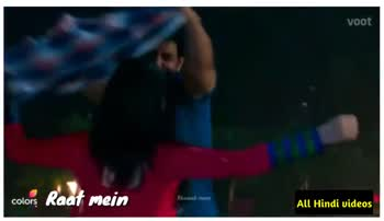 🖊️ लव शायरी और status ❤️ - voot Wo mujhe Sataa rahi hai colors All Hindi videos voot colors colors Mere Dil Mein Aa rahi hai All Hindi videos - ShareChat
