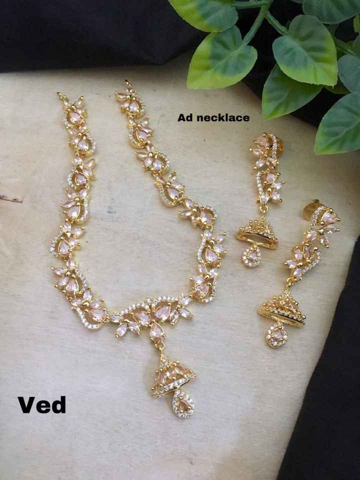 ear rings - Ad necklace Ved - ShareChat