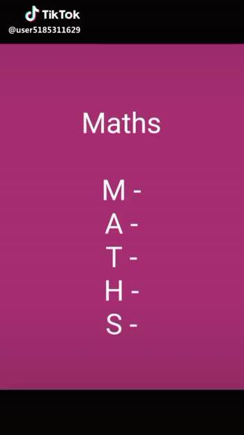 😂 காமெடி கலாட்டா - Maths M - Mental A - Attack T H S @ user5185311629 Maths M - Mental LA - Attack T - to H - Healthy S - students @ user5185311629 - ShareChat