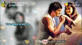 truee - @malathi97 ShareChat Love you.. You August JeyEditz Tube - ShareChat