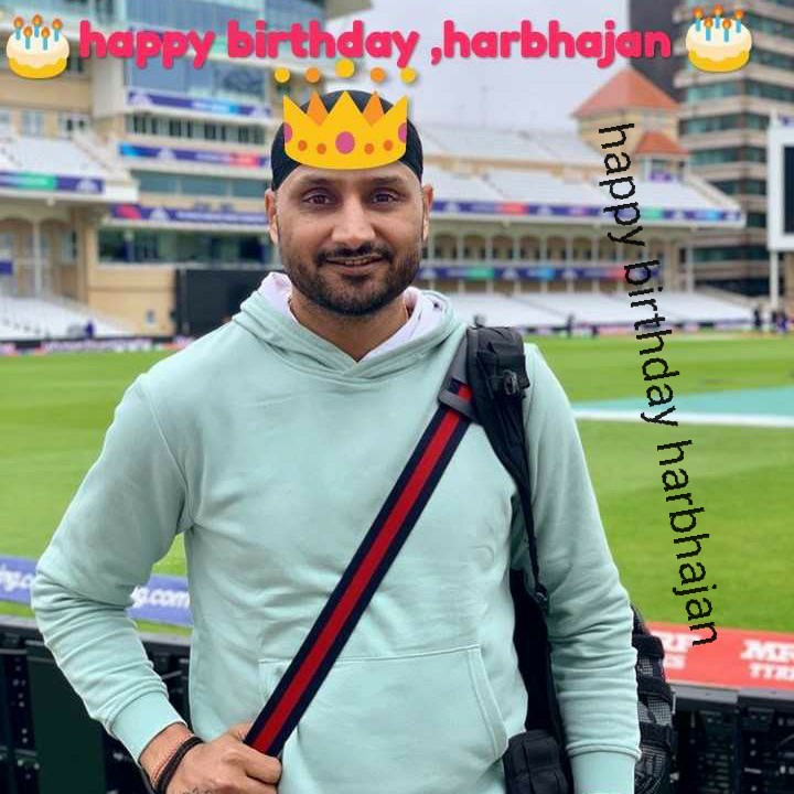 🎂 હેપી બર્થ ડે: હરભજન સિંહ - Pript happy birthday , harbhajan . happy birthday harbhajan - ShareChat