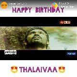 happy birthday dhanush - Posted On @s hareChat HAPPYBIRTH AY VIJAY - ShareChat