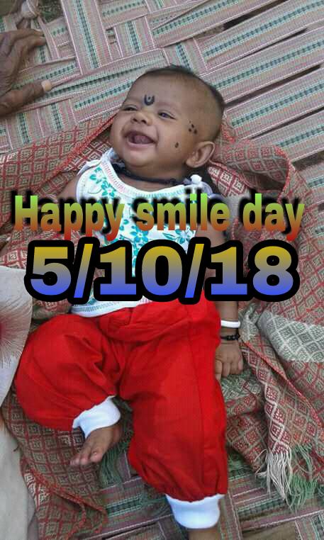 वर्ल्ड स्माइल डे😃 - BARI Harry smile day 5 / 10 / 18 NE JEG - ShareChat