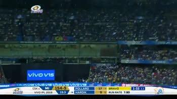 🏏மும்பையிடம் வீழ்ந்தது சென்னை - IPL VAMSUNG AMSUN INDIA 23 MI TOURNAMENT SIXES CSK MI 160 - 5 19 . 4 - ShareChat