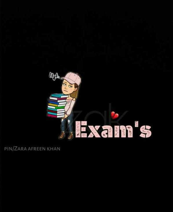 exam😢😭 - Up AULINE Exam ' s PIN / ZARA AFREEN KHAN - ShareChat