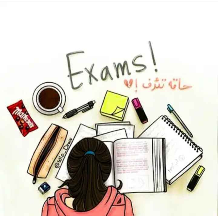 exam time - Exams ! خانه ثرف @ wlo . Draw - ShareChat