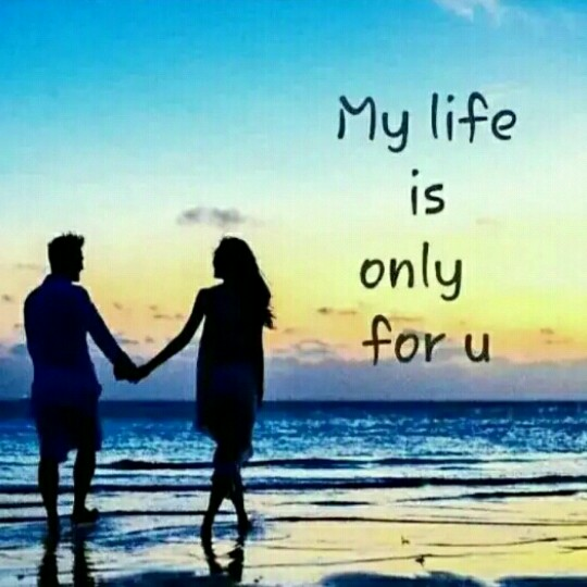 lovely status - My life is only for u he - ShareChat