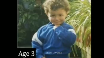 ⚽️ ரொனால்டோ - Age 17 BD @ _ BGM WORLD CRISTIANO RONALDO Flv Emirate - ShareChat