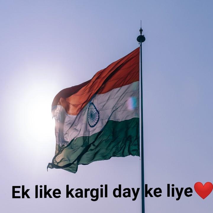 कारगिल विजय दिवस - Ek like kargil day ke liye - ShareChat