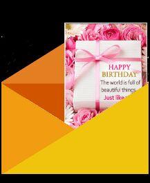 🤝பிறந்தநாள் வாழ்த்து - HAPPY BIRTHDAY The world is full of beautiful things . . . Just like you ! - ShareChat