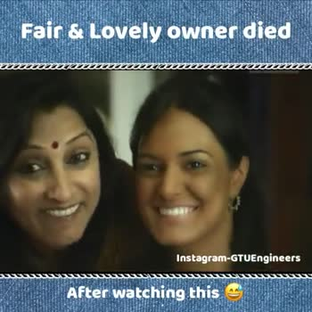 English Jokes - Fair & Lovely owner died Instagram - GTUEngineers SSSSSSSSSSSSSSSS After watching this Fair & Lovely owner died सब कुछ रोशन कर दे . BAJAJ CFL am Guagineers SSSSSSSSSSS After watching this - ShareChat