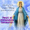 ⛪ ക്രിസ്തീയ വിശ്വാസം - May the blessed Virgin Mary grant all you ask for Feast of Immaculate Conception  - ShareChat