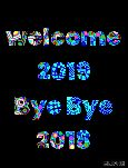 🙌শুভকামনা - welcome 2019 Bye Bye 2018 CLIPH  - ShareChat