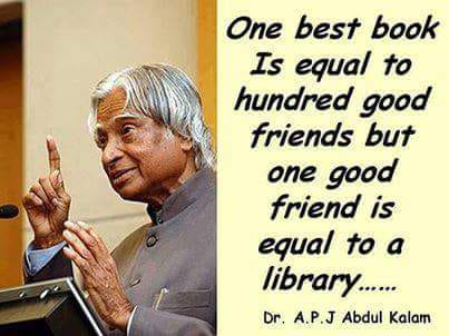 Ghost Photo - One best book Is equal to hundred good friends but one good friend is equal to a library . . . . . . Dr . A . P . J Abdul Kalam - ShareChat