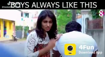 One Side Love - BOYS ALWAYS LIKE THIS 4Fun Download AJSK @ mukeshsharmado subcribe to channel 8 4Fun Download AJBK @ mukeshsharafdo - ShareChat