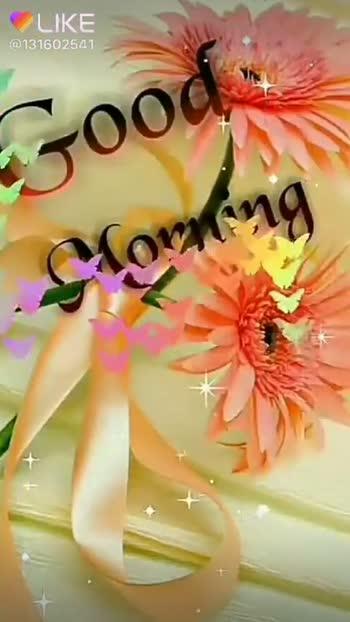 गुड मॉर्निंग शायरी - LIKE @ 131602541 LIKE APP Magic Video Maker & Community - ShareChat