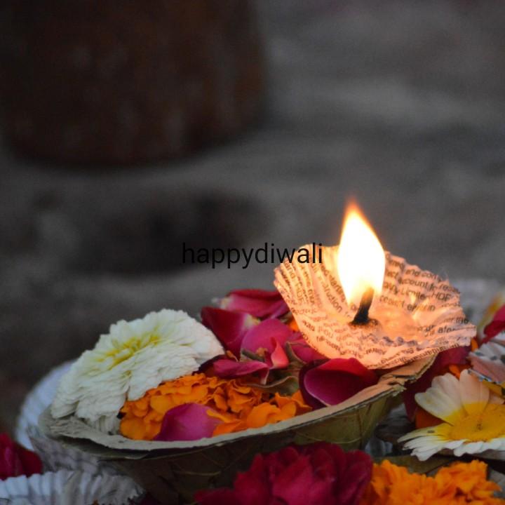 💕 नवरात्री स्टेटस - happydiwali count - ShareChat