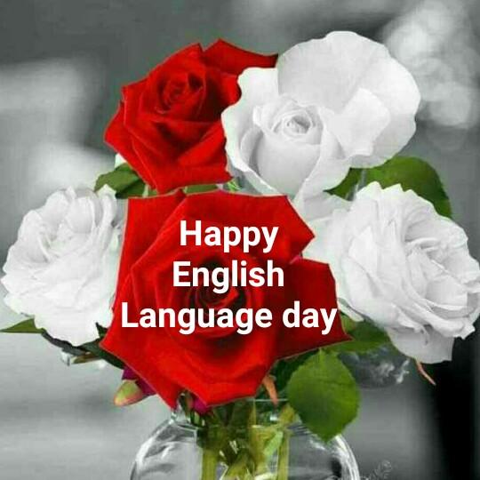 ஆங்கில மொழி தினம் - Happy English Language day - ShareChat