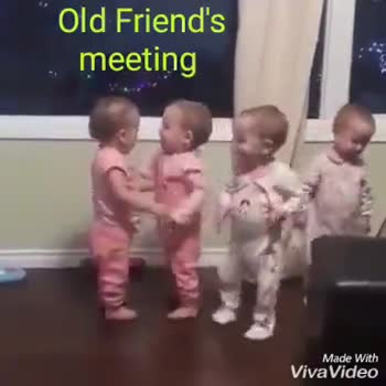 Nanban - Old Friend ' s meeting Made With VivaVideo Old Friend ' meeting Made With VivaVideo - ShareChat