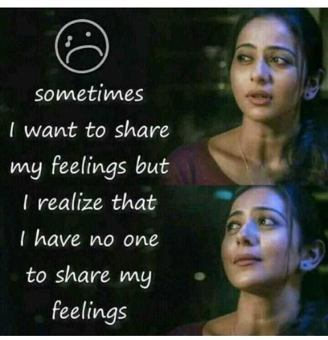 my feelings ❗❗❗ - sometimes I want to share my feelings but I realize that I have no one to share my feelings - ShareChat