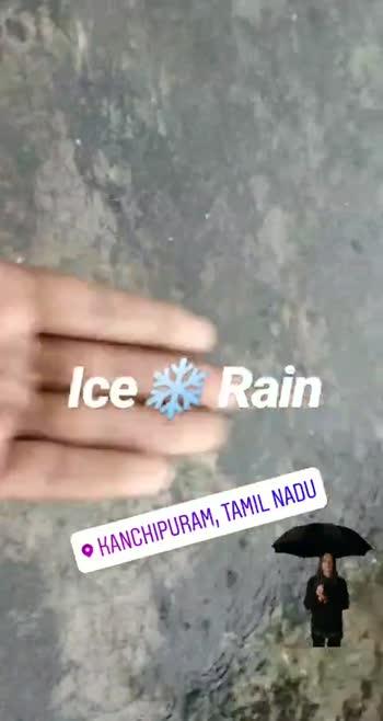 📠 📃 செய்தி - Ice * Rain KANCHIPURAM , TAMIL NADU Ice * * Rain KANCHIPURAM , TAMIL NADU - ShareChat