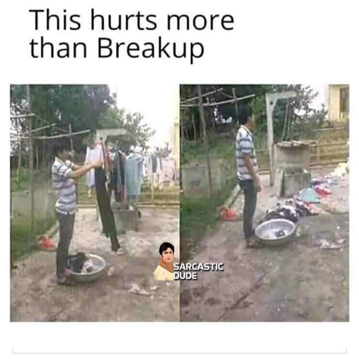 factu factuuuuuu - This hurts more than Breakup SARCASTIC DUDE - ShareChat
