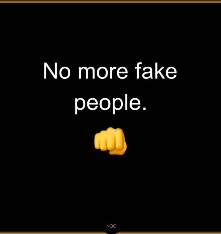 #fake - No more fake people . NOC - ShareChat