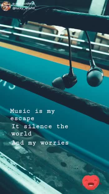 music - പോസ് ചയ്ത @ lucky _ anand Music is my escape It silence the world And my worries ShareChat Anand Darsan lucky _ anand some one leaves from your life then only better to . . . Follow - ShareChat