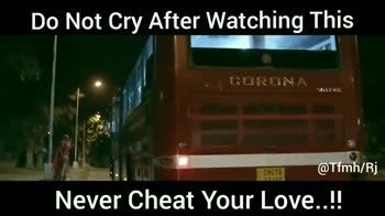 true love - Do Not Cry After Watching This @ Tfmh / Rj Never Cheat Your Love . . ! ! Do not cry after watching this Never Cheat Your Love . ! ! - ShareChat