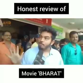 📱 ફુલ સ્ક્રિન વીડિયો સ્ટેટસ - Honest review of AIB Movie ' BHARAT ' Honest review of COLD AIR PARK NIGHT GRI Movie ' BHARAT - ShareChat