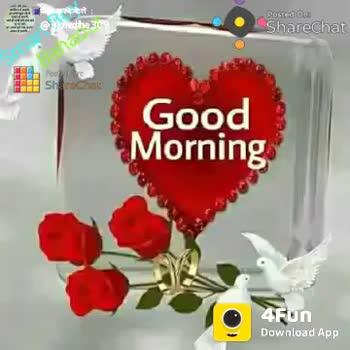 good morning status video download marathi