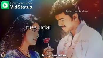 ilaya thalapathy vijay - Download from lyric _ tamilvideos nee pagal lyric _ tamilvideos Download from lyric _ tamilvideos enna sonnalum thalayatuven lyric _ tamilvideos - ShareChat