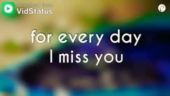 i miss u - ShareChat