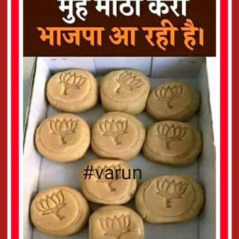 🗳 अंतिम नतीजा: BJP की जीत - मुहमाठाकरा भाजपा आ रही है । # varun - ShareChat