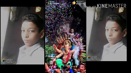 डबस्मॅश - Posted On ShareChat @manohar8191 Made with KINEMASTER 91 - ShareChat