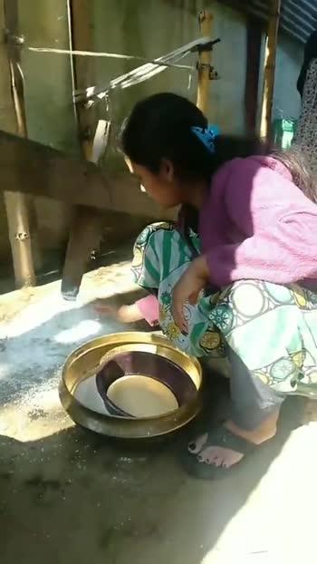 🎊 মাঘ বিহুৰ প্ৰস্তুতি 🥮 - ShareChat