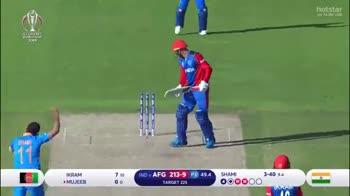 🏏 क्रिकेट - hotstar O M LIVE WESEDOC INDIA IKRAM MUJEEB 7 10 00 3 - 40 9 . 4 IND AFG 213 TARGET 225 P3 49 . 5 SHAMI hotstar 15 MM WERDEN KULDEEP ENGLAND & WALES 2 - ShareChat