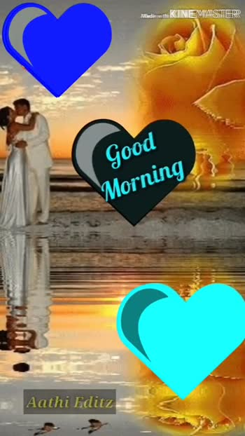 🌸 பூவே🌺 பூச்சூடவா - Mladieswithi KINEMASTER Cs Good Morning Aathi Editz Kolice Made with KINEMASTER Good Worning - ShareChat