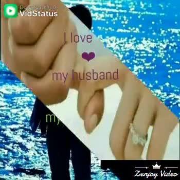 💕 காதல் ஸ்டேட்டஸ் - Dow Vidstatus Alle my husbal dhe La IS MY HUSBAND Zenjoy deo - ShareChat