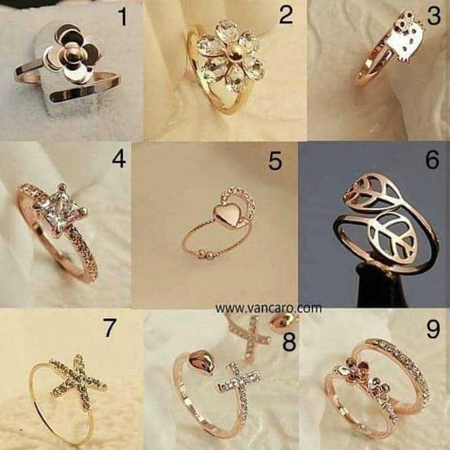 finger ring - 2 56 www . vancaro . com - ShareChat