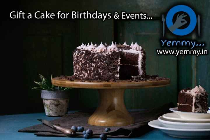 food - Gift a Cake for Birthdays & Events . . . Yemmy . . . www . yemmy . in - ShareChat